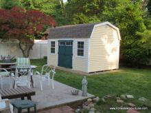 10' x 14' Laurel Dutch Barn Shed (vinyl siding)