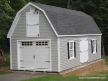14' x 32' Liberty Dutch Barn Shed (Vinyl Siding)