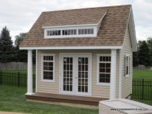 12' x 14' Heritage Pool House (vinyl siding)