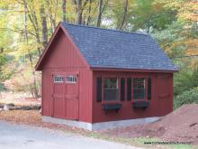 12' x 18' Liberty A Frame Shed (D-Temp siding)
