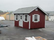 10' x 14' Classic Quaker Shed (D-Temp Siding)