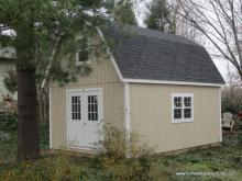 14 x 20 Liberty Dutch Barn Shed (Dura Temp Siding)