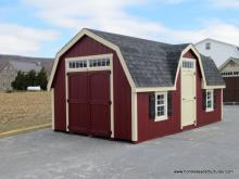 12' x 20' Laurel Colonial Barn Shed (D-temp Siding)