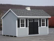 10' x 16' Laurel Quaker Shed (D-Temp Siding)