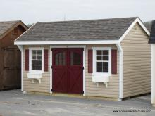 10' x 16' Laurel Quaker Shed (Vinyl Siding)