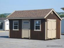 10' x 16' Laurel Quaker Shed (D-Temp Siding)