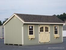 10' x 20' Laurel Quaker Shed (D-Temp Siding)