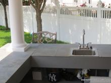 Siesta Poolside Bar Sink