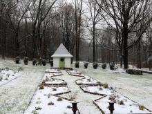 Snowy Zenith Garden Tower