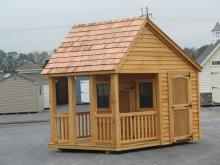 12 x 8 Lincoln Playhouse (cypress siding)