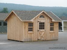 10' x 14' Classic Victorian  Shed (Board & Batten Siding)