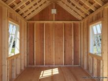 8 x10 Premier Garden Shed - Interior