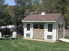 10' x 14' Laurel Quaker Shed (Vinyl Siding)