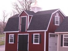 14 x 24 Liberty Dutch Barn Shed (Dura temp Siding)