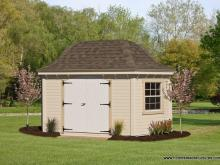 10' x 16' Homestead Garden Belle (D-temp Siding)