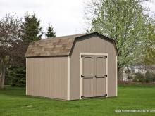 10' x 12' Keystone Dutch Barn Shed (D-Temp siding)