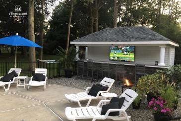 10' x 18' Siesta Pool Bar in Lincroft NJ