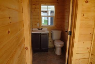 Avalon Pool House Bathroom