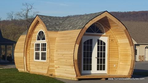 10' x 24' Hobbit House tiny home new lancaster pa