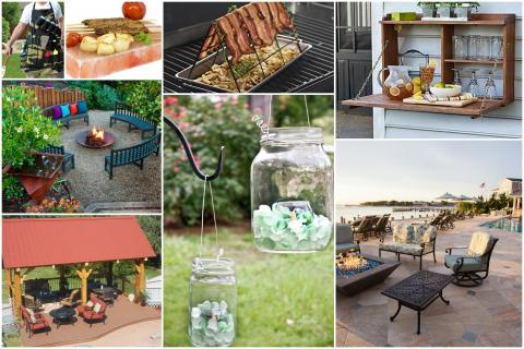 BBQ gadgets & backyard hacks & ideas