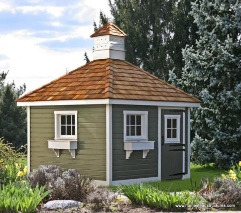 Landscaping Your Storage Shed Homestead Structures