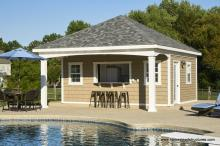 Pool House - 18' x 20' Avalon with Kitchen