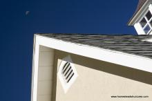Heritage Pool House Gable Vent