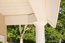 Heritage Pool House Front Porch Ceiling