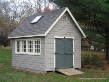 10' x 16' Liberty A Frame Shed (Hardie Plank Siding)