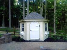 10' Garden Belle Shed with window boxes