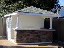 10 x 11 Siesta Poolside Bar with hip roof