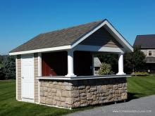 10' x 12' Siesta with A-Frame Roof in Hainesport, NJ