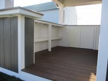 Bar shelves in 10x12 Siesta
