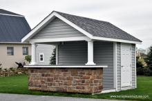 10' x 12' Siesta Pool House for sale in PA