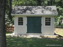 10' x 12' Classic A-Frame Shed