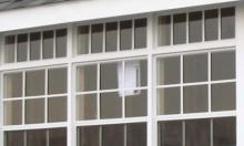 Transom Windows (above windows)