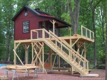 10x14 Century A-Frame Shed with duratemp siding