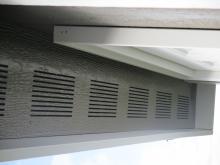 Gable vents in 12x12 Siesta