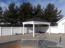 12' x 16' Estate Pavilion with hip roof