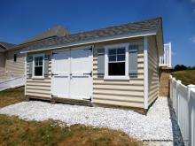 12x18 Classic A-Frame Shed with vinyl siding