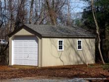 12' x 20' 1-Car Keystone Garage in Middletown, NJ