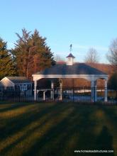 12' x 20' Estate Pavilion with cupola