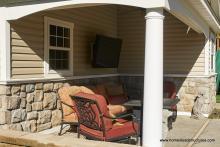 12' x 20' Wellington - porch interior