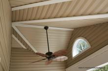 12' x 20' Wellington - Porch ceiling with fan