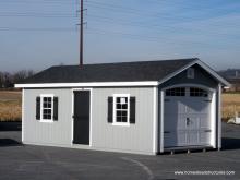 12' x 24' Classic 1-Car Prefab Garage