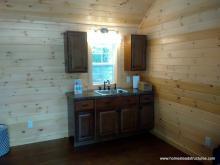 14 x 16 Heritage Liberty mini kitchen