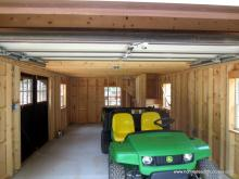 14' x 23' 2-Story Liberty AFrame Garage in Glencoe Sparks, MD