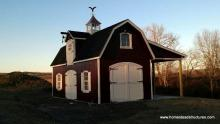 14x24 Liberty Dutch Barn Shed with duratemp siding
