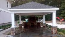 16' x 16' Vintage Pavilion