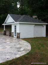 16' x 22' Wellington with garage door